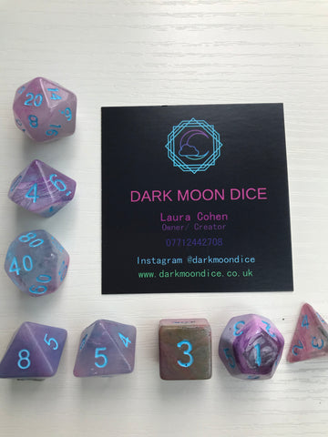 Ethereal Dice Set