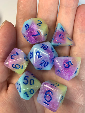 Sno Cone (Light) Dice Set