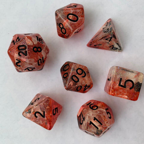 Fireball Dice Set