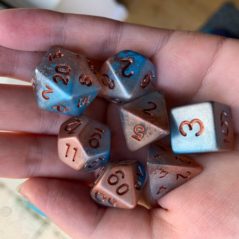 Cloud Walk Dice Set