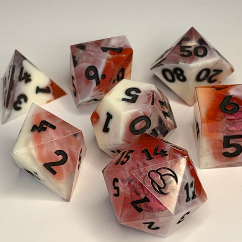 Heart Dice Set