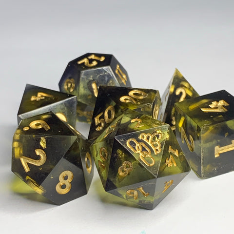 Rotten Butter Dice Set