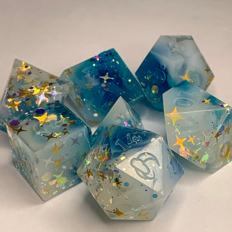 Raw Twilight Dice Set