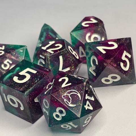 Logo Range - Gallifrey Dice Set