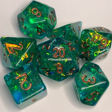 Calliope Dice Set- Rounded Edges