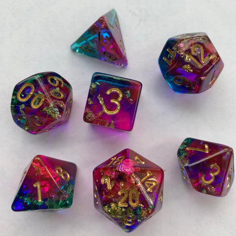 Dark Lights (Siren) Dice Set