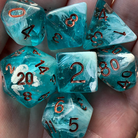 Glacier Breeze Dice Set
