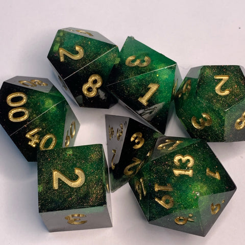 Anubis Dice Set