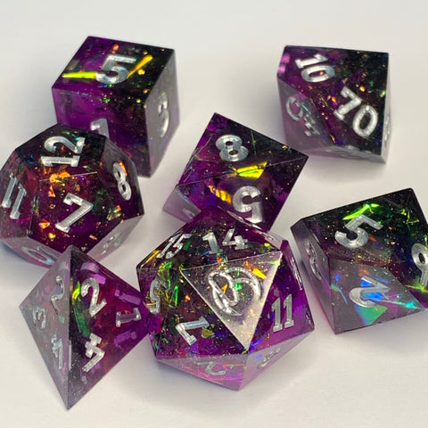 Ultra Violet Dice Set
