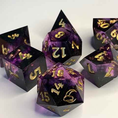 Nightshade Dice Set