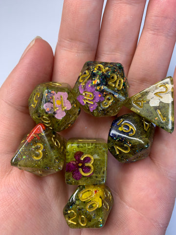 Druid's Grove Dice Set