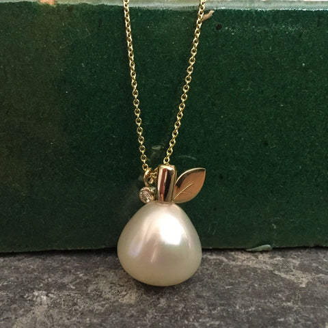 South Sea Pear Pearl Necklace