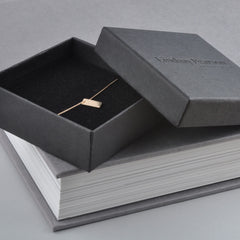 necklace in black jewellery box