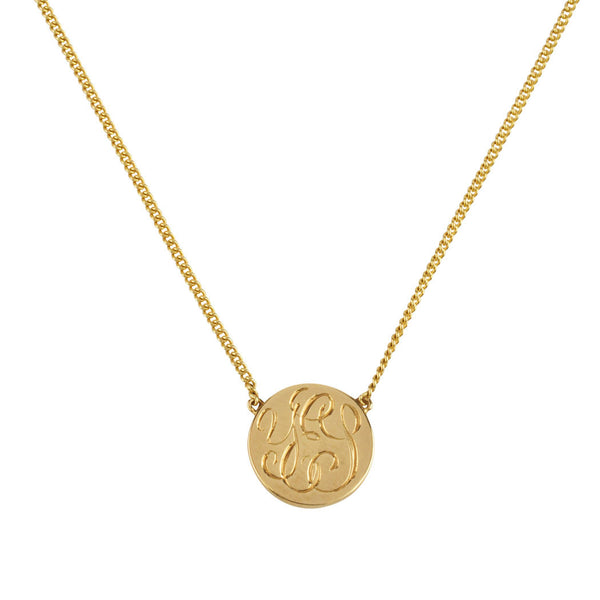 9ct Gold YES Coin Necklace