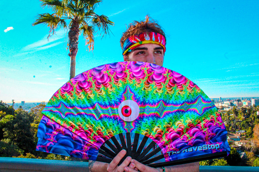 "Psychedelic ""Vision"" Fan"