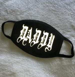 "Reflective ""DADDY"" Mask"