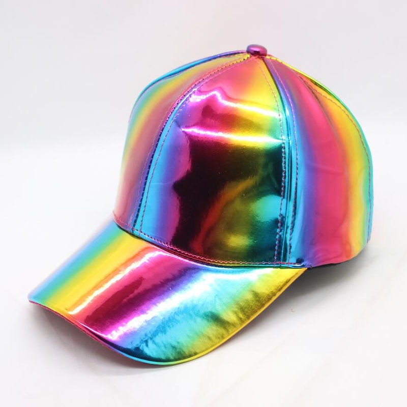 Holographic PRIDE Baseball Caps