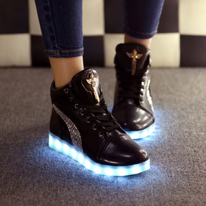 Hot Fashion LED High Tops
