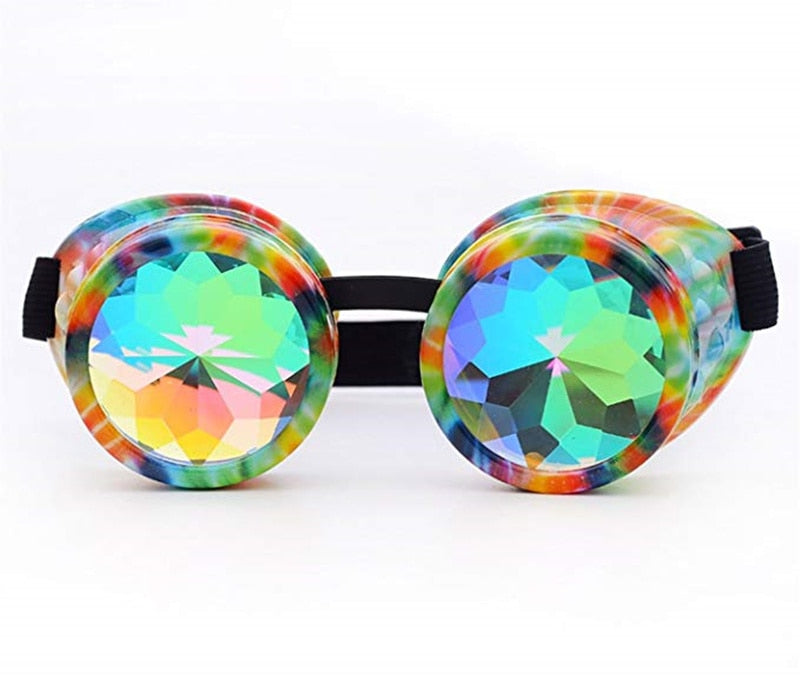 Tie-Dye Diffraction Goggles