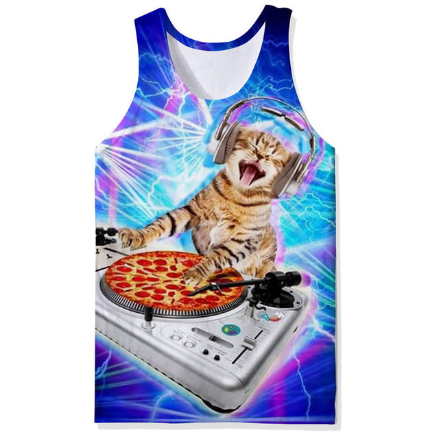 Galactic Kitty Wonder Tank Collection