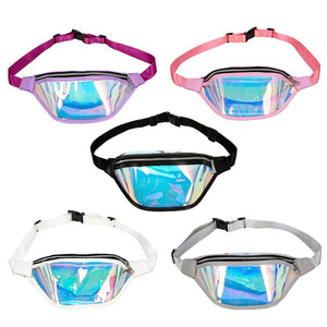 Leather Holographic Fanny Assortment