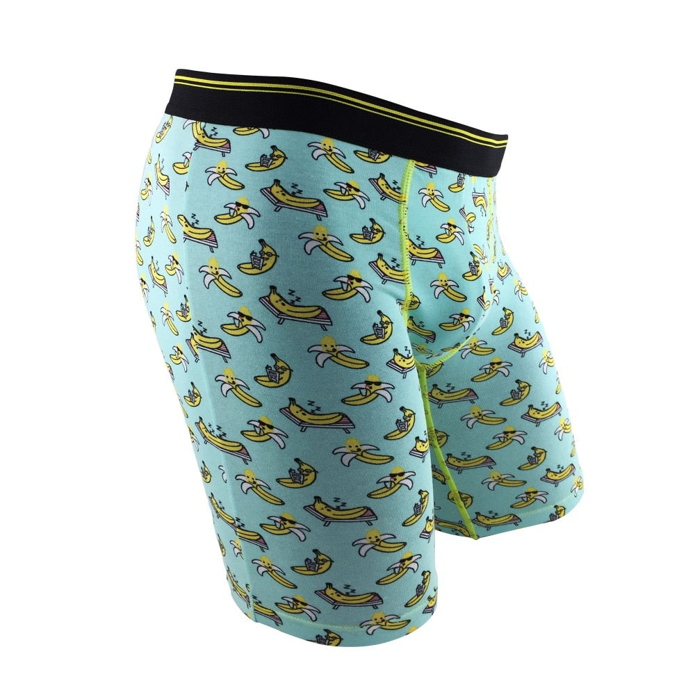 Chill Banana Fitted Boxers