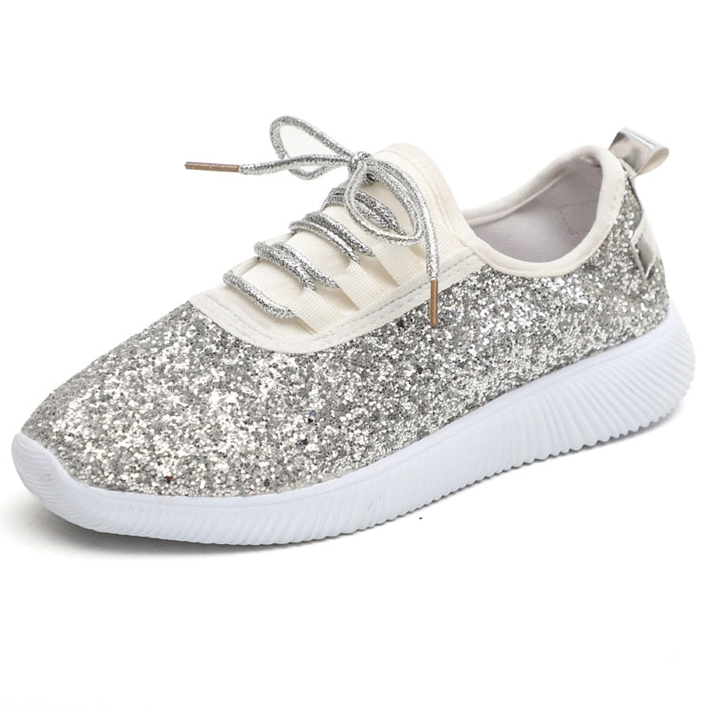 Glittered Sneakers