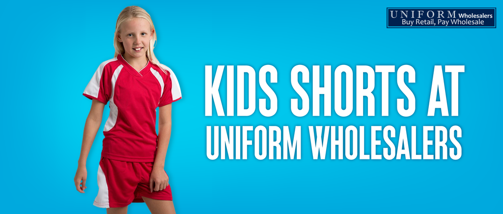 Kids Shorts at Uniform Wholesalers