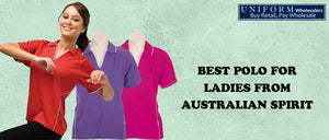 Best Polo for Ladies From Australian Spirit