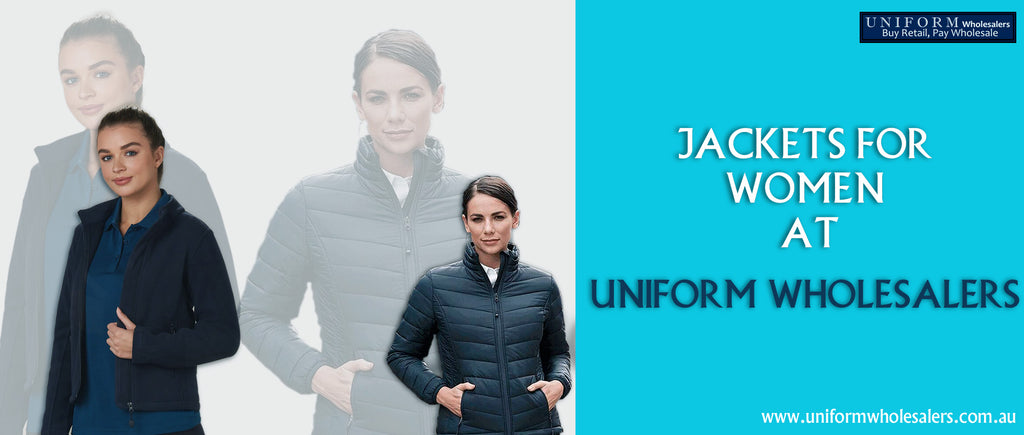 Jackets for women at Uniform Wholesalers
