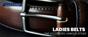 LADIES BELTS – ONE ACCESSORY, VARIOUS STYLES