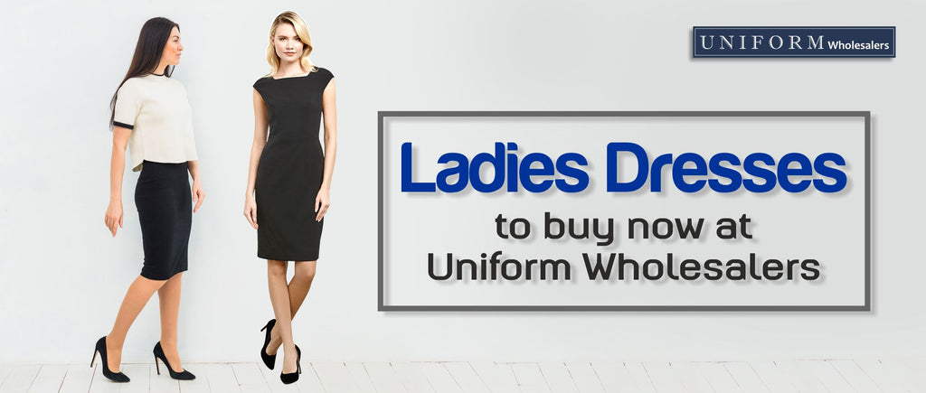 Ladies Dresses to buy now at Uniform Wholesalers