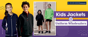 Kids Jackets at Uniform Wholesalers