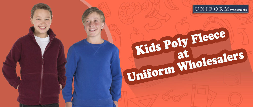 Kids Poly Fleece at Uniform Wholesalers