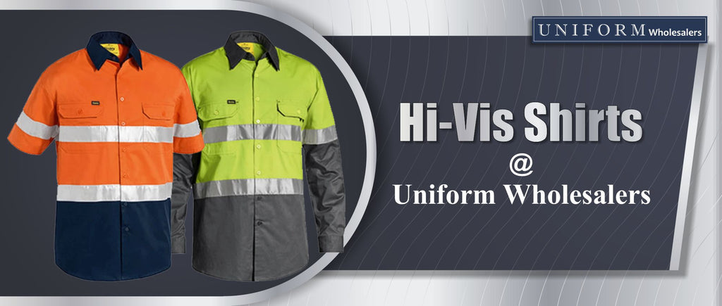 Hi-Vis Shirts at Uniform Wholesalers
