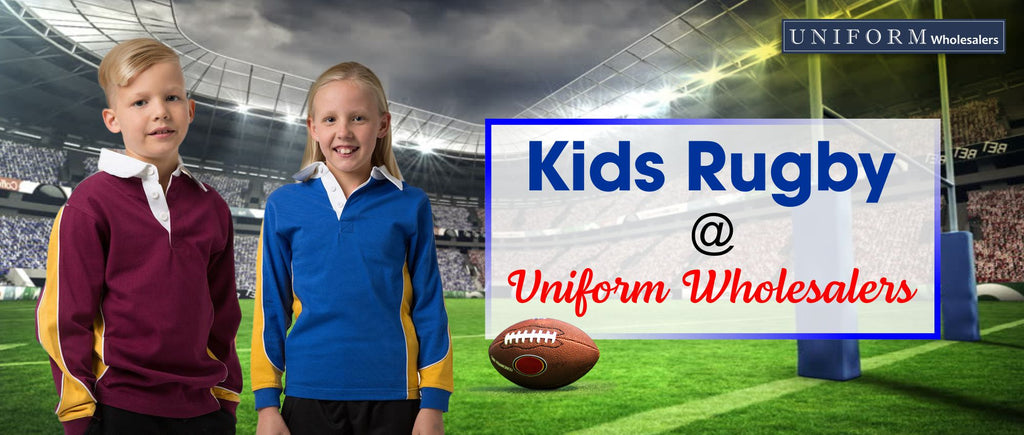 Kids Rugby at Uniform Wholesalers