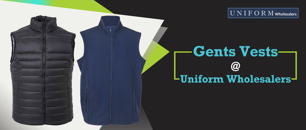 Gents Vests at Uniform Wholesalers