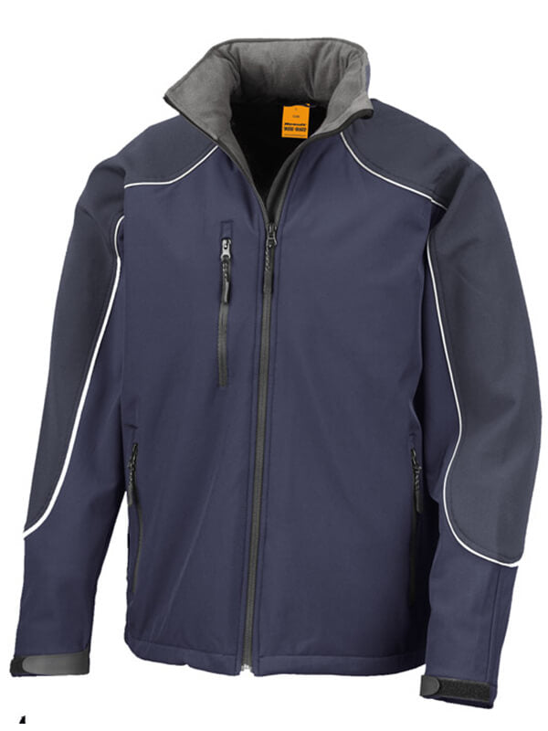 Result  Hooded Soft Shell Gents Jacket (R118X)