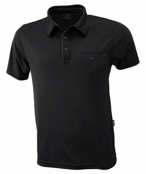 Stencil Boston Mens S/S Polo-(1063)
