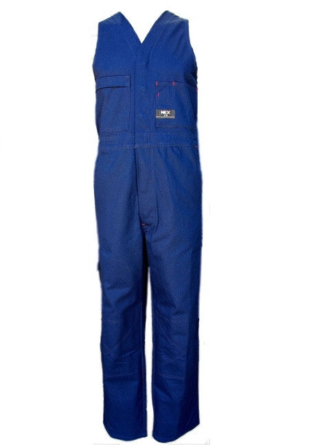 NEX-NEX Cotton Drill Action Back Coverall-Navy / 77R-Uniform Wholesalers - 2