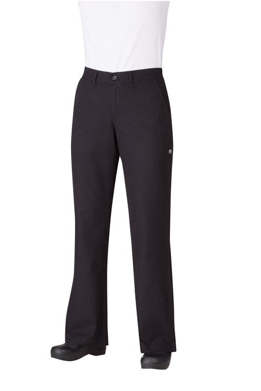 Chef Works-Chef Works Women's Professional Chef Pants-XS / Black-Uniform Wholesalers - 1