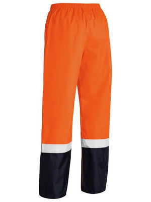 Bisley Taped Two Tone Hi Vis Shell Rain Pant (BP6965T)