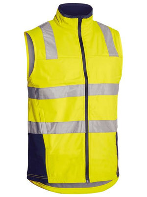 Bisley Taped Hi Vis Soft Shell Vest (BV0348T)