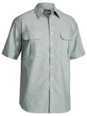 Bisley Oxford Shirt - Short Sleeve (BS1030)