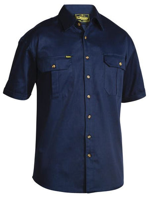 Bisley Original Cotton Drill Shirt - Short Sleeve (BS1433)