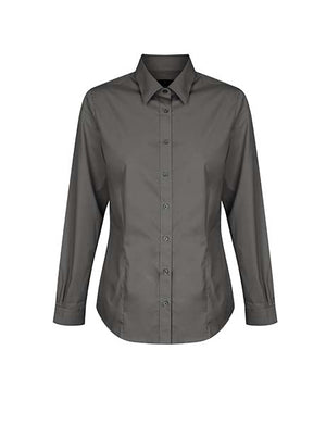 Gloweave Ladies  Premium Poplin Long Sleeve Shirt (1520WL)