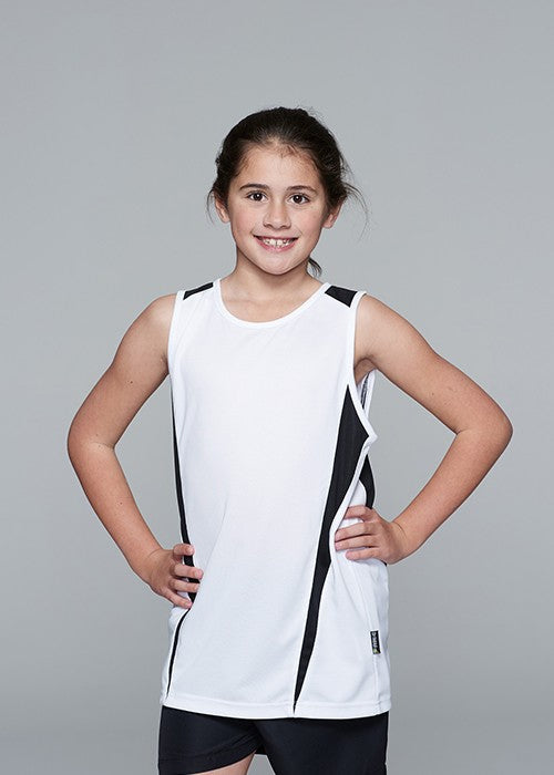 Aussie Pacific Eureka Kids Singlet 1st ( 12 Colour ) (3104)