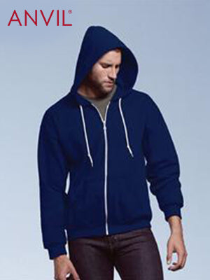 Anvil Adult Zip Hooded Sweat (71600)