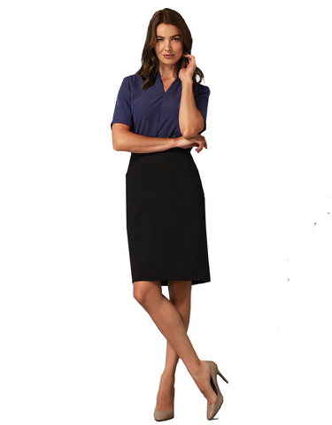 Gloweave-Gloweave Ladies Pencil Skirt--Uniform Wholesalers - 1