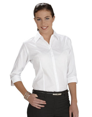 Biz Collection-Biz Collection Ladies PU Belt-Black / 8-Uniform Wholesalers